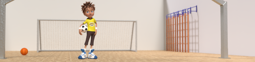 Personnage Action Sport Mini-foot