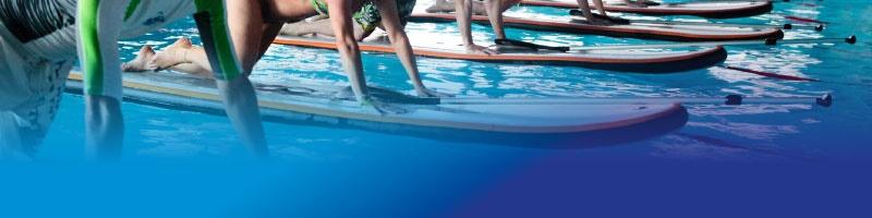 Cours d'aqua paddle à Nivelles